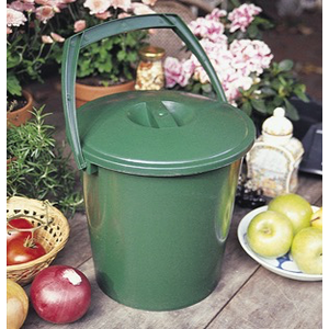 Bosmere Handy Compost Pail Countertop Composter Bin - 2.3 gal