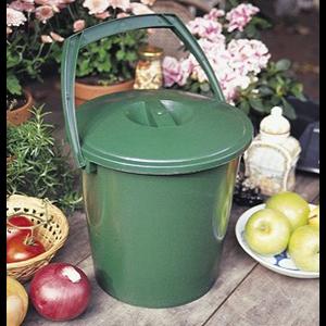 Outdoor Gardening Handy Compost Pail Countertop Composter Bin - 2.3 gal