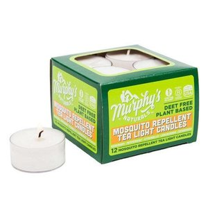 Pest and Disease Murphy's Naturals Mosquito Repellent Tea Light Candles - box/12