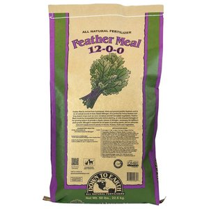 Outdoor Gardening Down to Earth Feather Meal - 50 lb