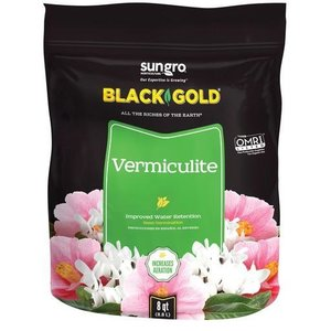 Outdoor Gardening Black Gold Vermiculite - 8 qt