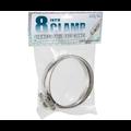 Indoor Gardening Active Air Ducting Clamp 8 inch- 2/pk
