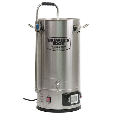 Beer and Wine Brewer's Edge Mash and Boil Electric Brewing System w/Pump