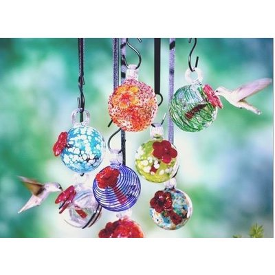 Home and Garden Parasol Droplet Hummingbird Feeder - Assorted styles
