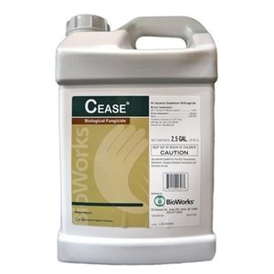 Outdoor Gardening BioWorks Cease Organic BioFungicide Concentrate - 2.5 gallon