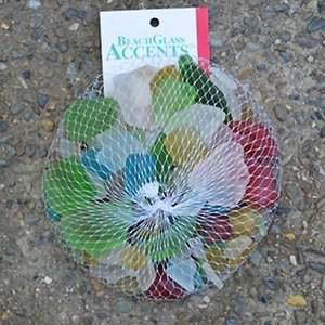 Kinsman Co Colorful Bagged Beach Glass - 1 lb