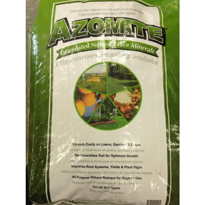 Outdoor Gardening Azomite Trace Minerael Fertilizer (Pelletized) -44lb