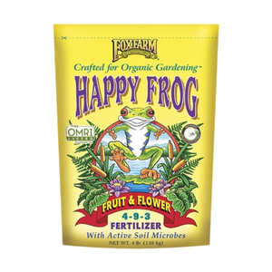 Outdoor Gardening FoxFarm Happy Frog Organic Fruit & Flower Fertilizer