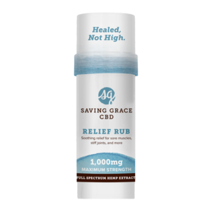 Home and Garden Saving Grace 1000 mg CBD Pain Salve Stick - 2.12 oz