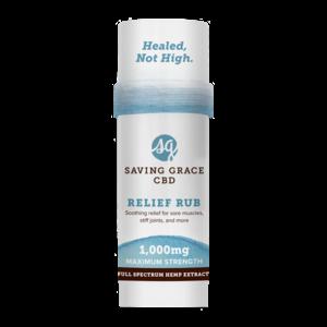 Home and Garden Saving Grace 1000 mg CBD Pain Salve Stick - 2.12 oz