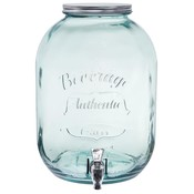 Down to Earth Recycled Glass Beverage Dispenser - 3.3 gallon