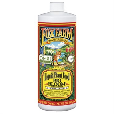 Indoor Gardening FoxFarm Big Bloom