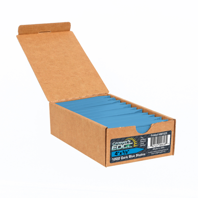 Grower's Edge Blue Plant Labels - 100 pack