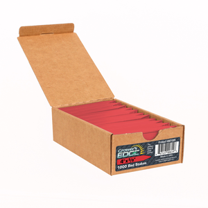 Grower's Edge Red Plant Labels - 100 pack