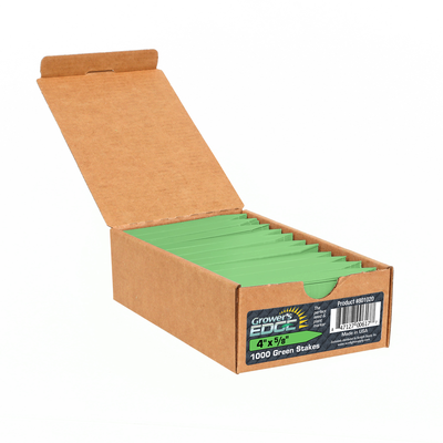 Grower's Edge Green Plant Labels - 1,000 case