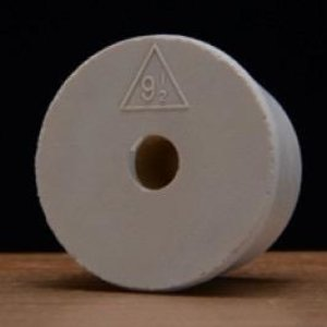 BSG Drilled Rubber Stopper - #9.5