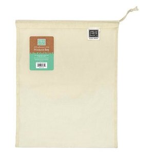 Home and Garden Large Reusable Fabric Produce Bag - 13x17 inch