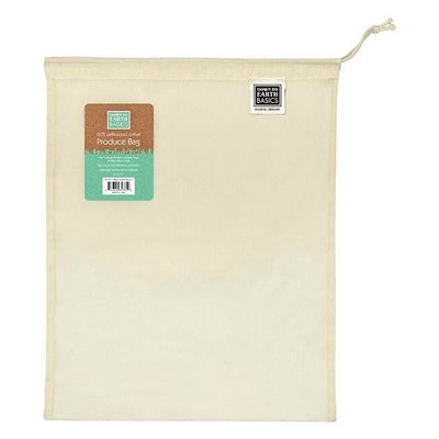 Down to Earth Large Reusable Fabric Produce Bag - 13x17 inch