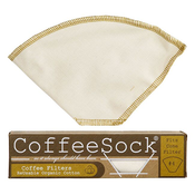 Coffee Sock Coffee Sock Reusable Coffee Filter - #4 Cone Filter (2pk)