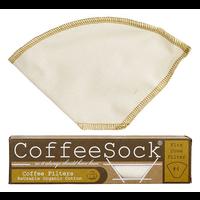 Coffee Sock Coffee Sock Reusable Coffee Filter - #4 Cone Filter (2pk)