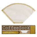 Coffee Sock Coffee Sock Reusable Coffee Filter - #2 Cone Filter (2pk)