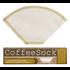 Home and Garden Coffee Sock Reusable Coffee Filter - #2 Cone Filter (2pk)