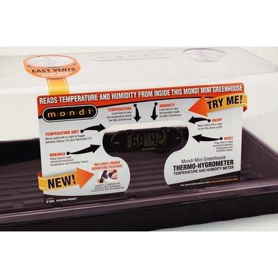 Propagation Mondi Mini Thermometer and Hygrometer