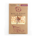 Bees Wrap Bees Wrap Sandwich Wrap - Honeycomb