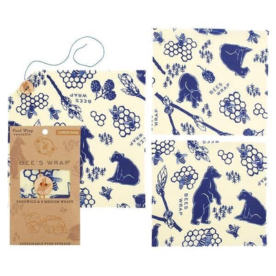 Urban DIY Bees Wrap Lunch Pack - Bees & Bears