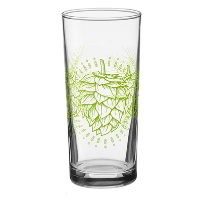 Down to Earth Hops Drinking Glass