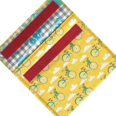 Home and Garden EcoBagIt Sandwich Bag - Biker Girl