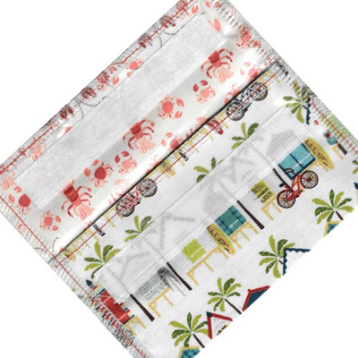 Home and Garden EcoBagIt Snack Bag - Lil' Cabana
