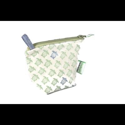 Home and Garden EcoBagIt! Zip Reusable Snack Bag - Sea Turtles