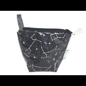 Green City Living EcoBagIt! Zip Reusable Snack Bag - Constellations