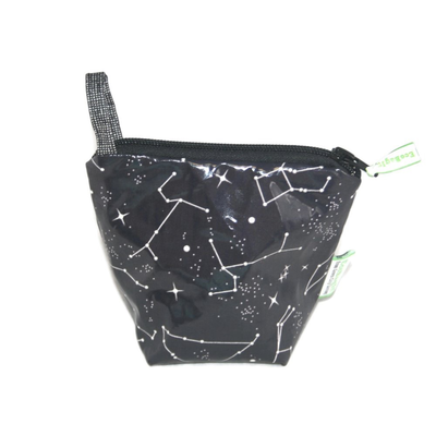 Home and Garden EcoBagIt! Zip Reusable Snack Bag - Constellations