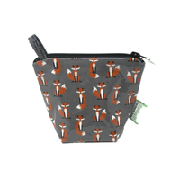 Green City Living EcoBagIt! Zip Reusable Snack Bag - Mr. Fox Jr.