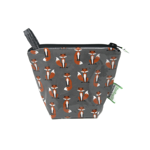 Home and Garden EcoBagIt! Zip Reusable Snack Bag - Mr. Fox Jr.