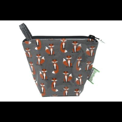 Home and Garden EcoBagIt! Zip Reusable Snack Bag - Mr. Fox Jr.