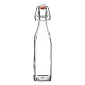 Down to Earth Square Swing Top Bottle - .5 Liter