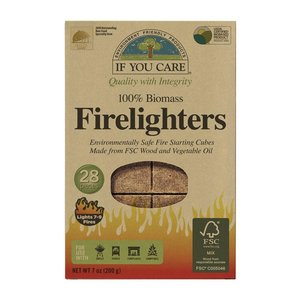 Home and Garden If You Care FSC Certified Firelighters - 28 ct