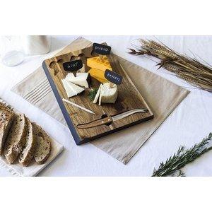 Urban DIY Delio Acacia Wood Cheese Board Set