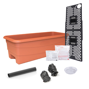 Outdoor Gardening Earth Box Junior Organic - Terra Cotta