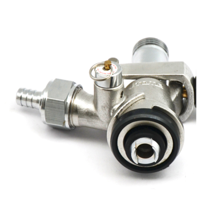 Foxx Equipment Krome US Sanke Keg Coupler - D Style