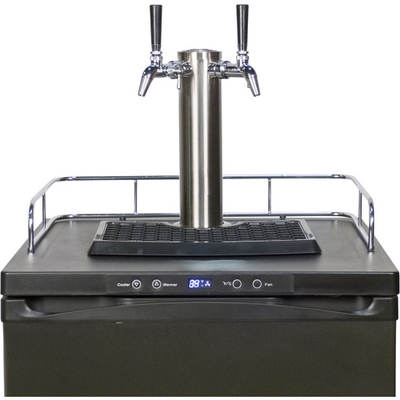 Beer and Wine KOMOS™ Kegerator with Stainless Steel Intertap Faucet