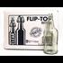 EZ-Cap Clear Swing Top 1 L Bottles - 12/case