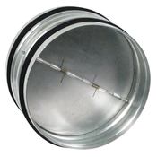 Ideal Air Backdraft Damper - 8 inch