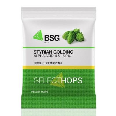 Beer and Wine Styrian Golding Hops-Pellets