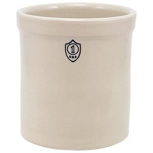 Down to Earth Ohio Stoneware Bristol Ceramic Crock - 1 gallon