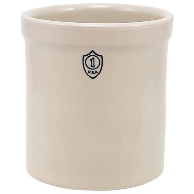 Down to Earth Ohio Stoneware Bristol Ceramic Crock - 1 gallon