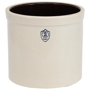 Urban DIY Ohio Stoneware Bristol Ceramic Crock - 2 gallon
